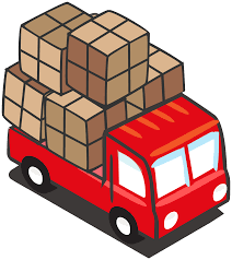 Cargo Image Red Truck